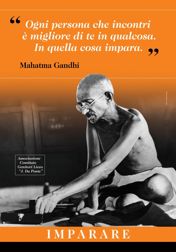 Anche Mahatma Gandhi Tra Le Pillole Di Saggezza